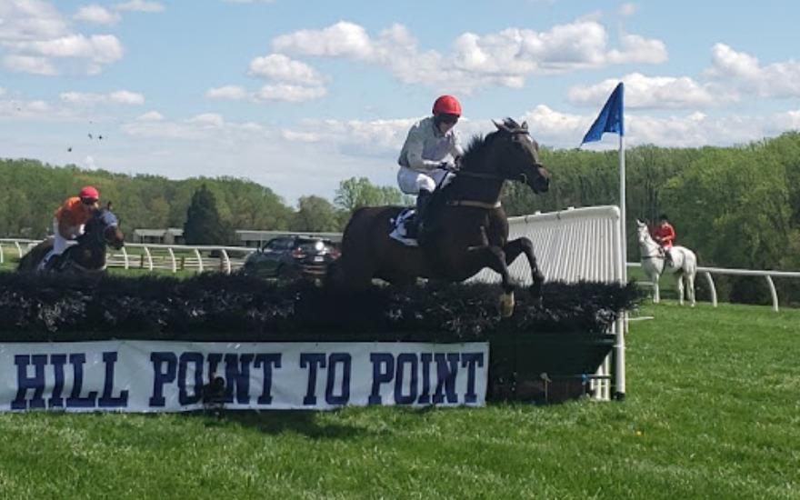 Matt Slap supports Fairhill Point to Point Races