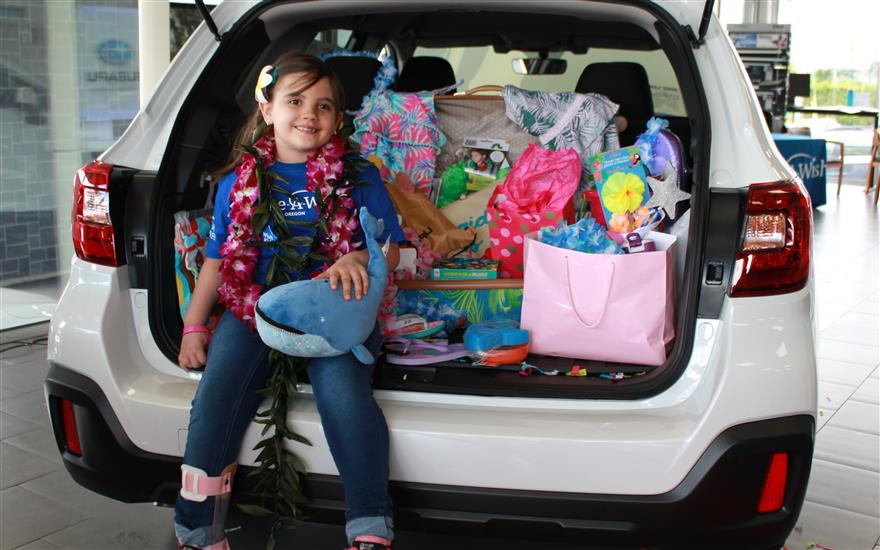 Gresham Subaru Grants Wishes for Kids