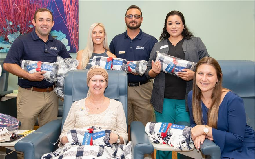 Conley Subaru Blanket Delivery to FCS