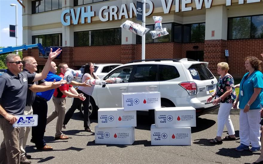 Comfort Blanket Donation to GVH Cancer Patients