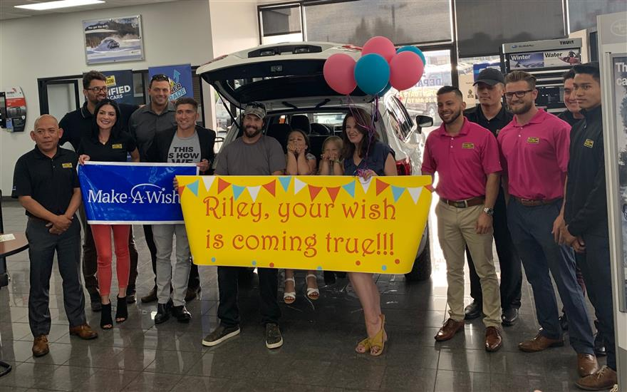 Capitol Subaru Helps Grant Wishes for Local Kids