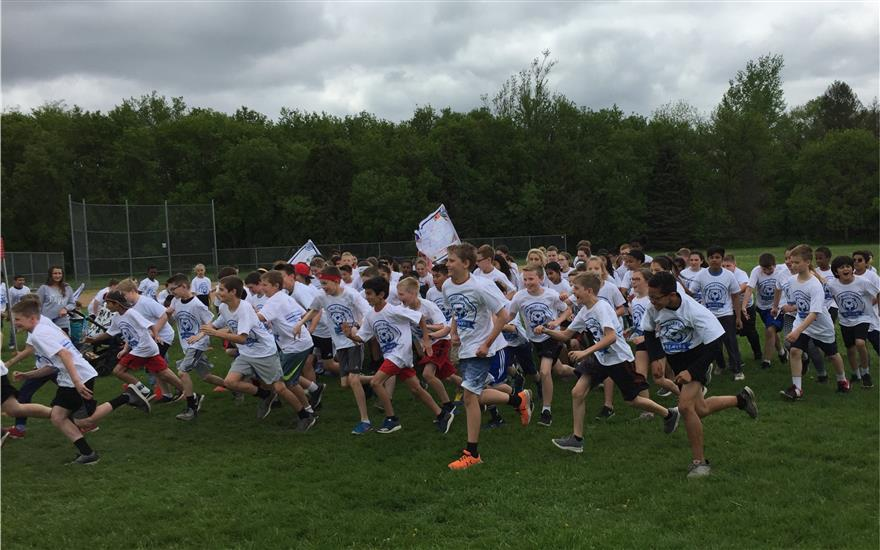 Lots of Fun at the Bamber Valley Elem. Fun Run!