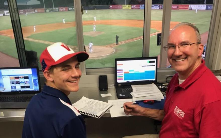 McDaniels Subaru Jr. PA Announcer of the Night