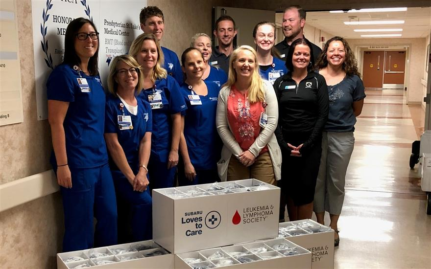 Groove Subaru & LLS Bring Warmth to Patients