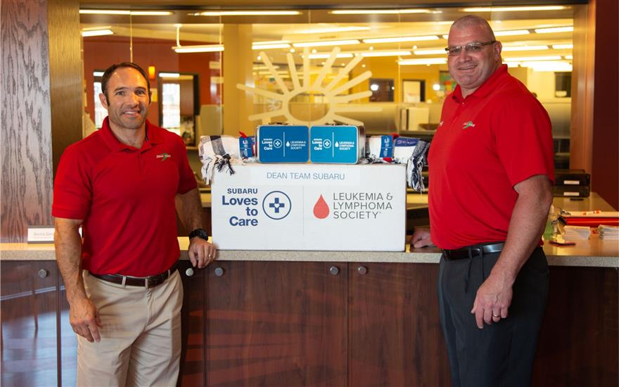Subaru Delivers Warmth to Cardinal Glennon