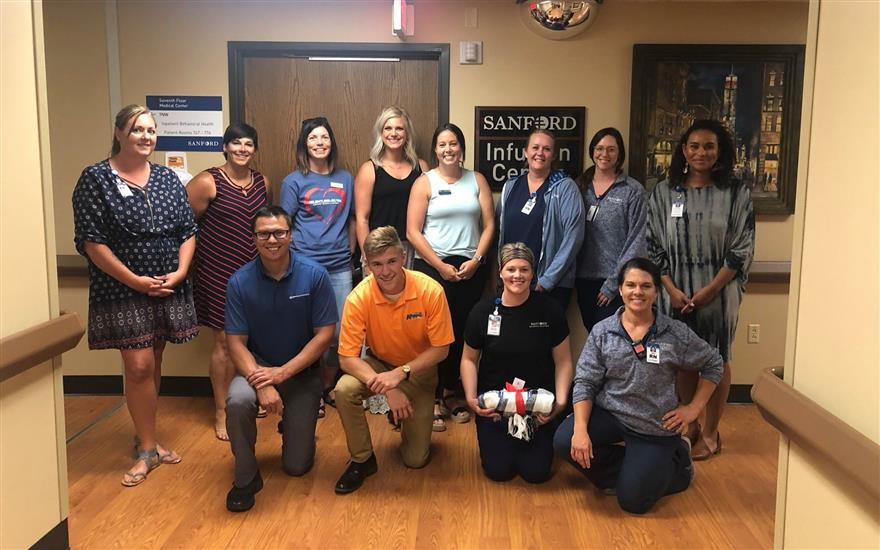 Spreading Hope To Sanford Hospital for 4th Year