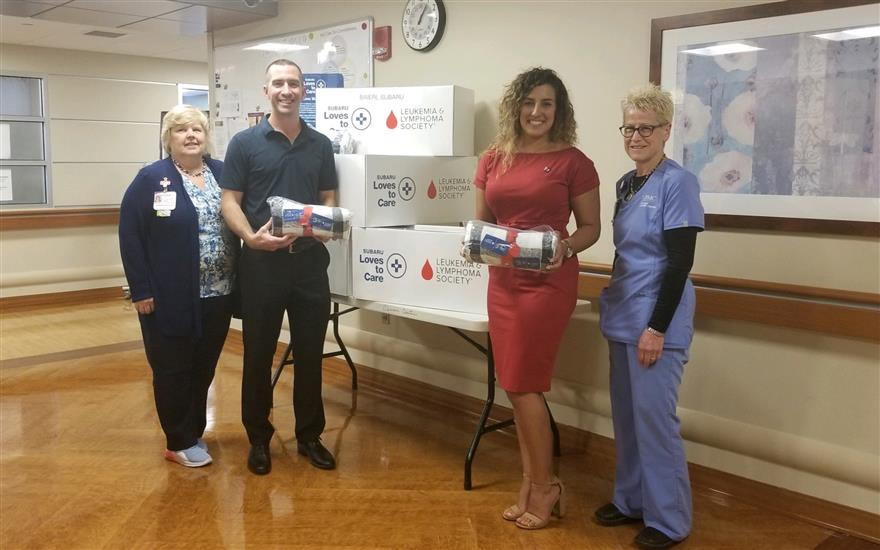 Baierl Cares: Comforting Cancer Patients