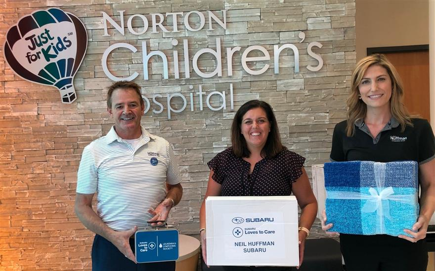 Neil Huffman Subaru & Norton Children's Hospital