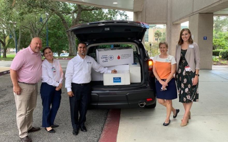 Subaru of Orange Park Blanket Delivery with LLS