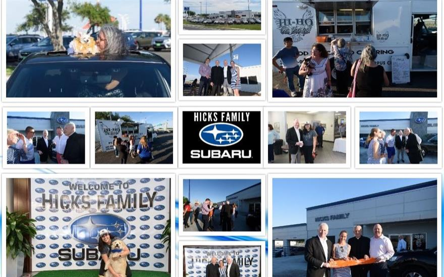 Hicks Family Subaru Grand Opening