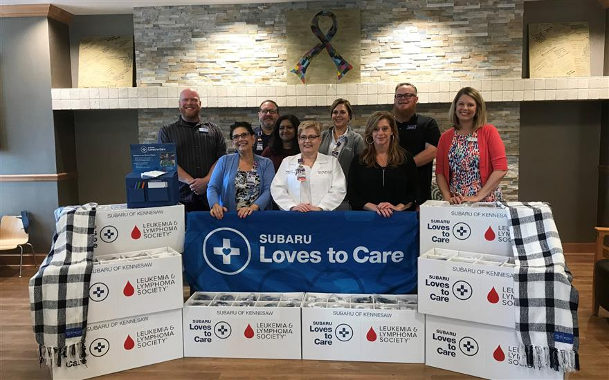 Subaru and LLS Support Cancer Patients