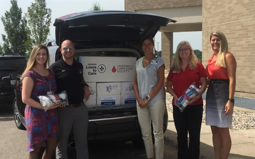 Subaru of Grand Blanc brings warmth to patients