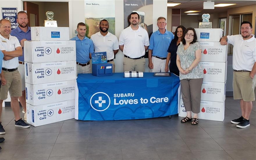 Parkway Subaru supporting Zimmer Cancer Clinic
