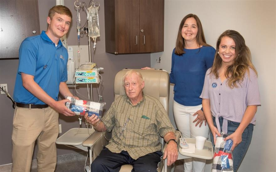 Wyoming Valley & LLS bring love to patients!