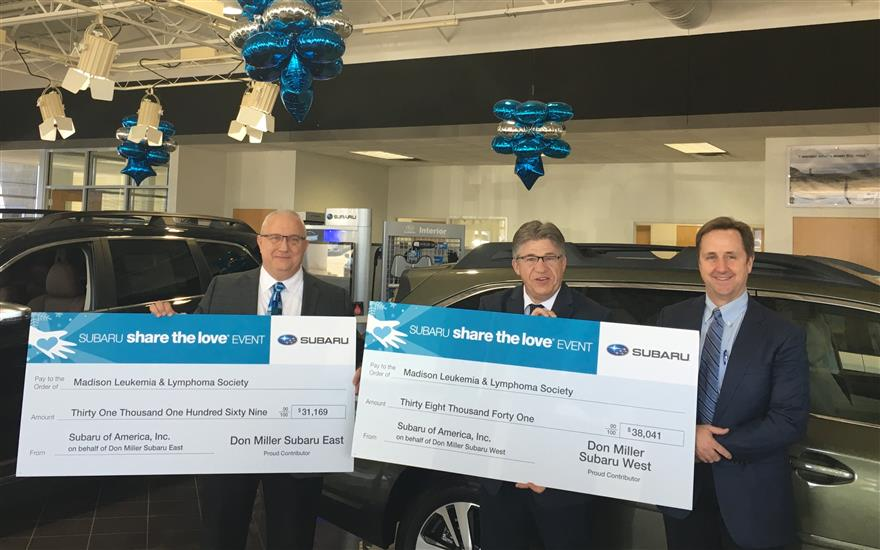 Don Miller Subaru East Delivers Hope!