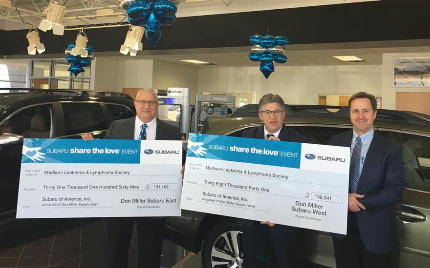 Don Miller Subaru West Delivers Hope to Patients!