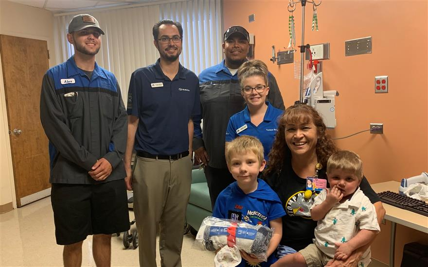 Tucson Subaru caring for local cancer patients