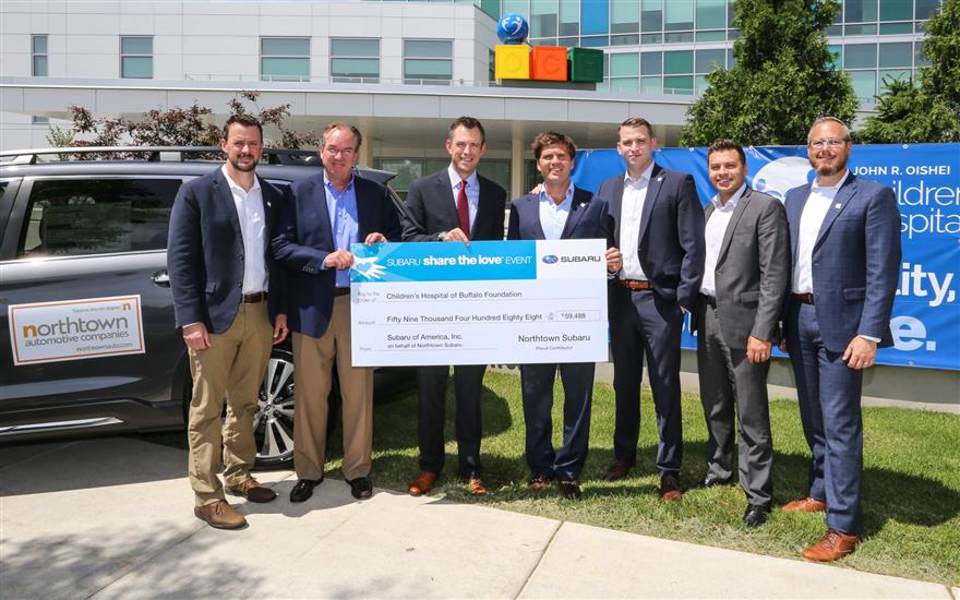 Northtown Subaru Donates Over $59,000 to OCH