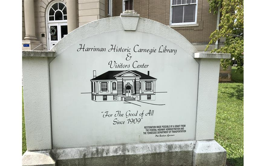 Harriman Historic Carnegie Library