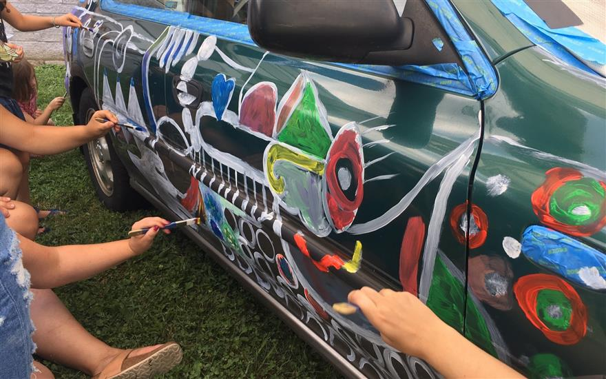 Car as Canvas at the Susquehanna Art Museum!