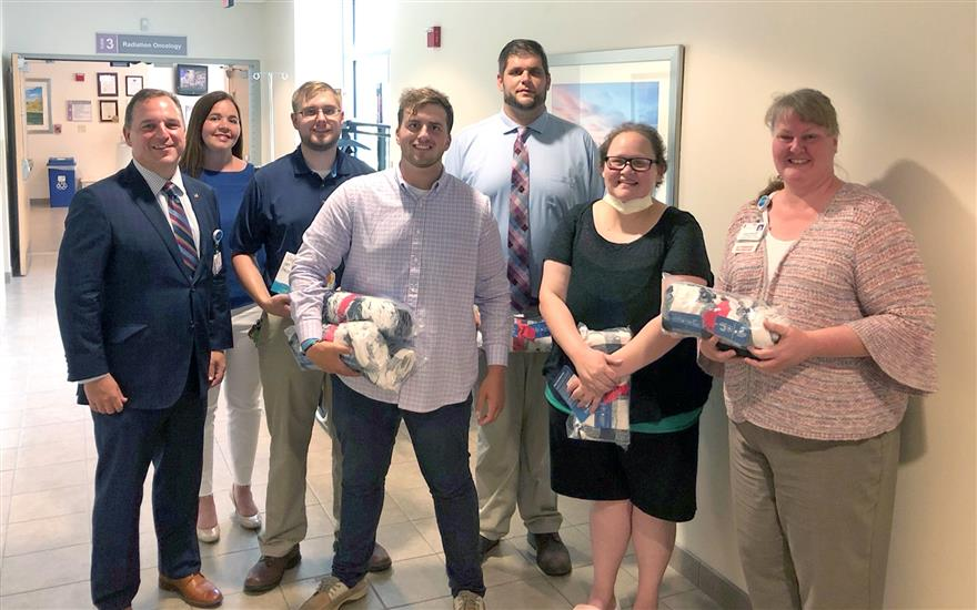 Wyoming Valley and LLS deliver hope to patients
