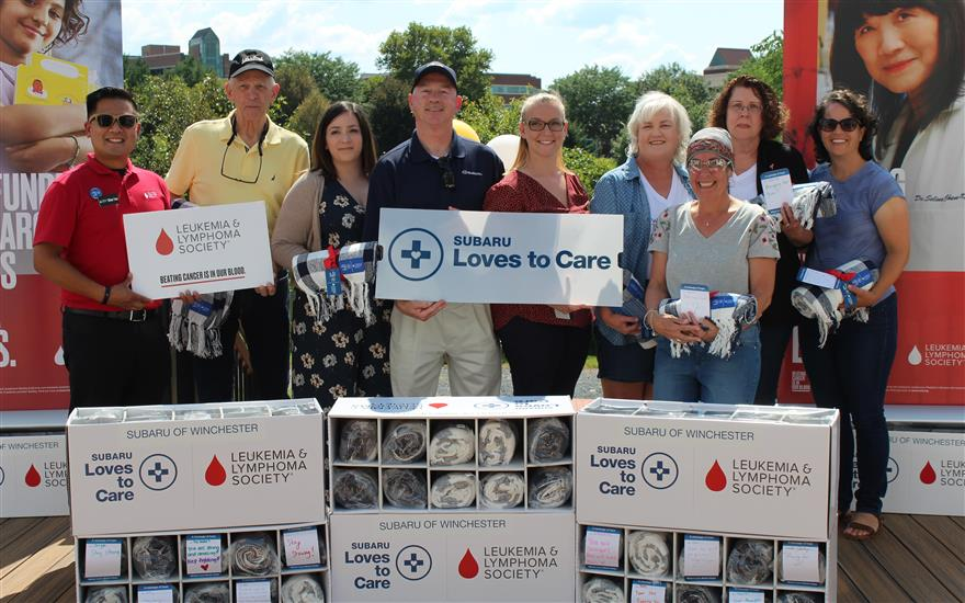 Subaru & LLS Blanket Delivery for Cancer Patients