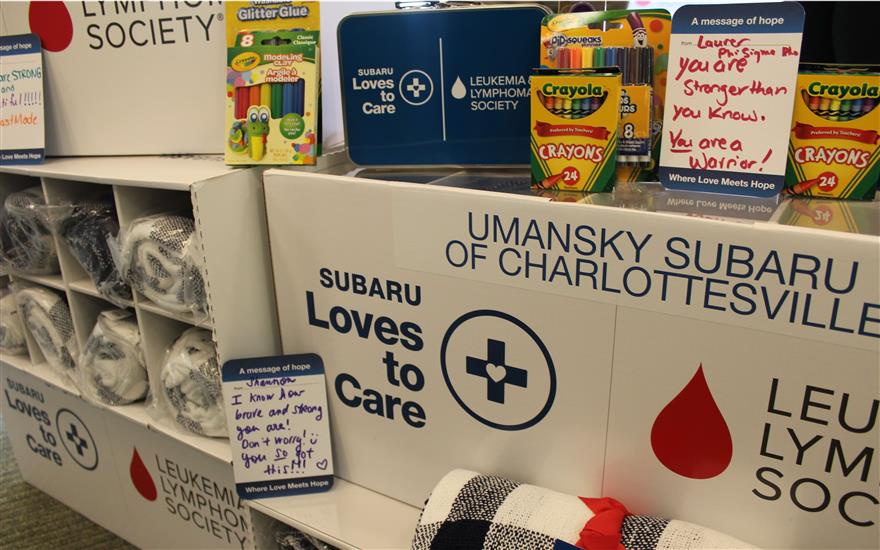 Subaru & LLS Deliver Blankets to Cancer Patients