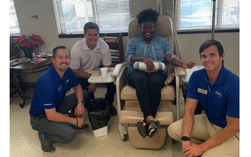 Sterling Subaru Warms Patients' Hearts