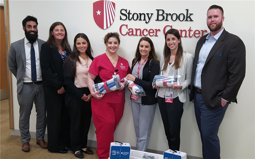 Sharing warmth at Stony Brook Hospital