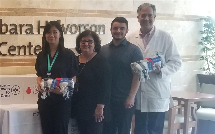 Eastside Subaru loves to Care for Cancer Patients