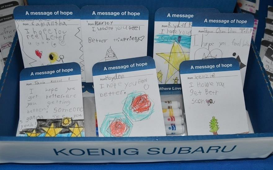 Koenig Subaru Loves To Care for Patients