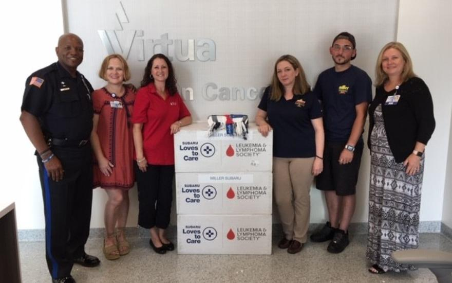 Miller Delivers Warmth and Hope to Penn Med Virtua