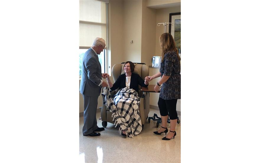 Leukemia & Lymphoma Society Blanket Delivery