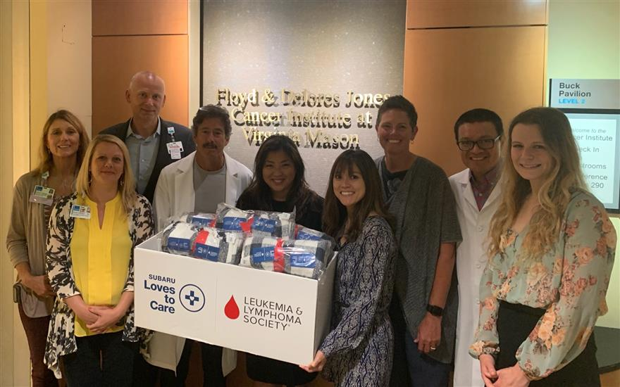 Carter Subaru Ballard Delivers Warmth to Patients