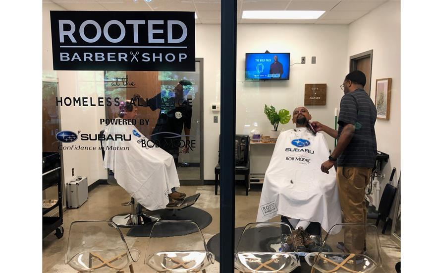 Homeless Alliance Barber Shop