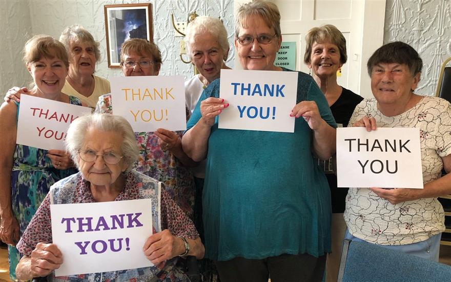 Tilton Senior Center Receives $500