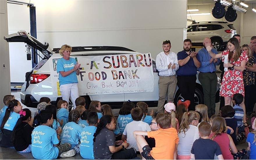 Kids Helping Kids With Subaru
