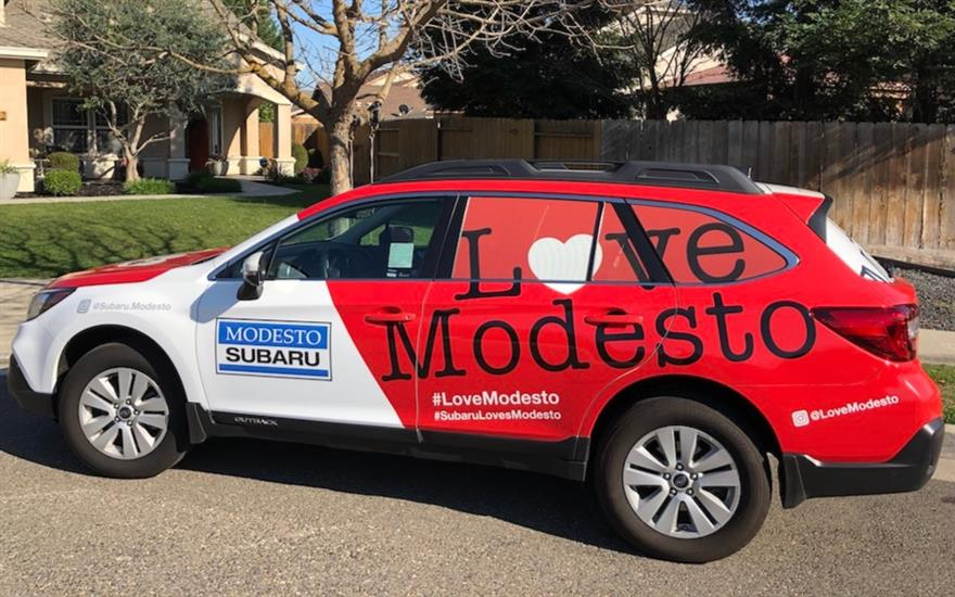 Subaru Loves Modesto All Year Long!