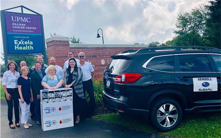 Sendell Subaru Supports Cancer Center for 4th Year