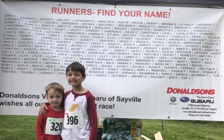 DONALDSONS SUBARU SUPPORTS KIDS RUN LONG ISLAND !
