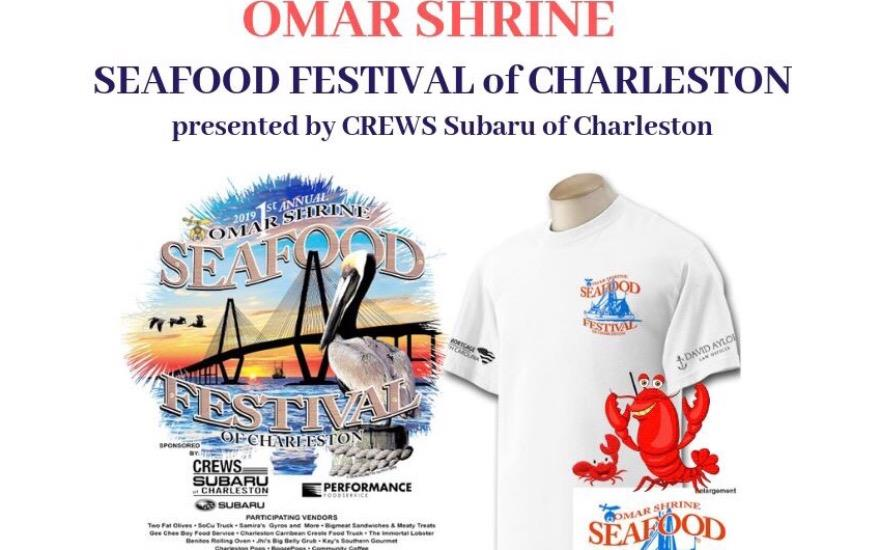 Omar Shrine Seafood Festival of Charleston 2019