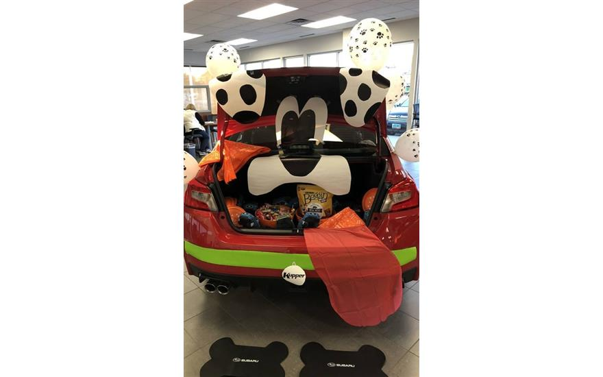 A PAWesome time at Kupper Subaru's Howl-o-Ween
