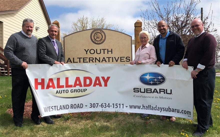 Halladay Subaru Invests in Youth Alternatives