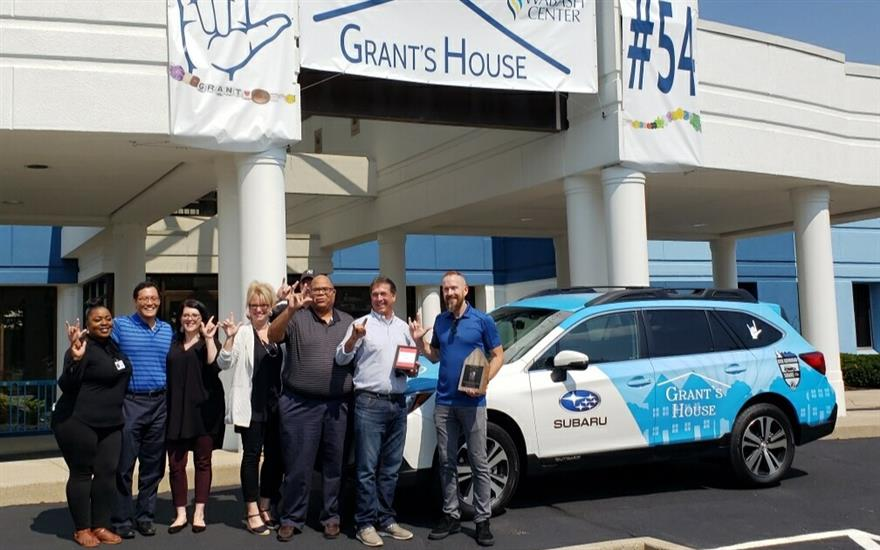 Driving Force of Support for Grant's House