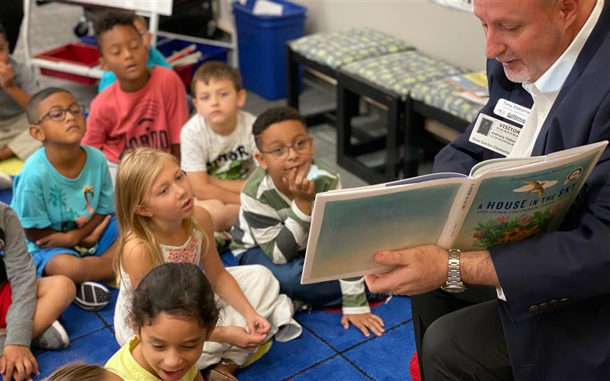 Gillman Subaru supports learning through reading