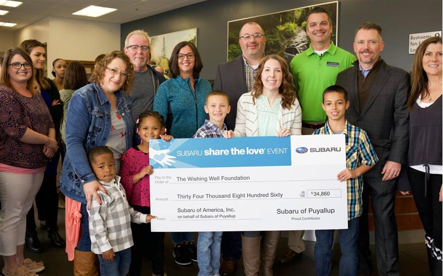 Subaru of Puyallup Supports Local Foster Children