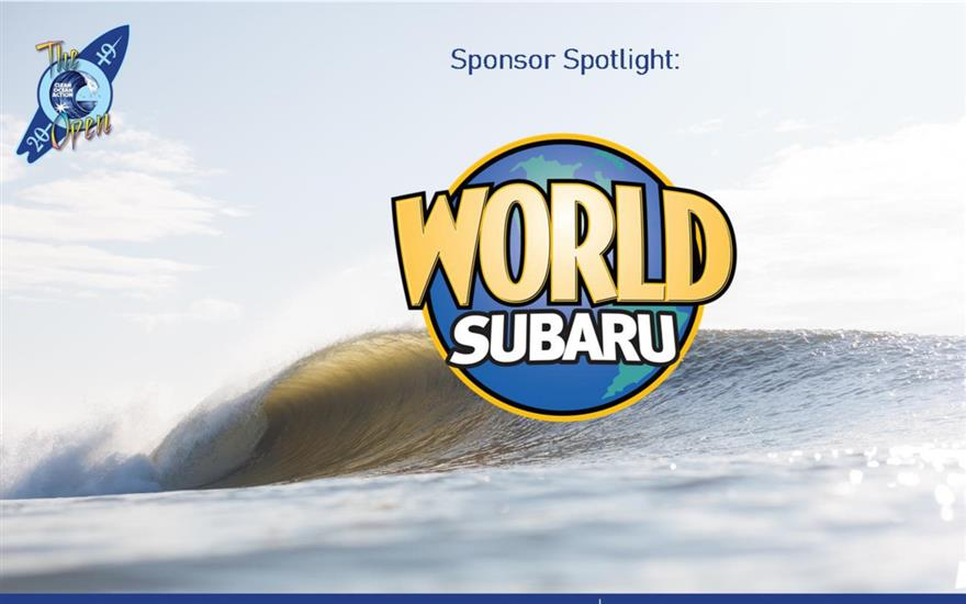 World Subaru Sponsors Clean Ocean Action