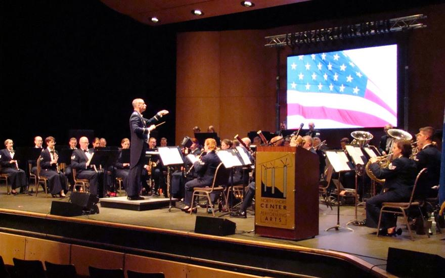A Free Concert by the Air Force Band