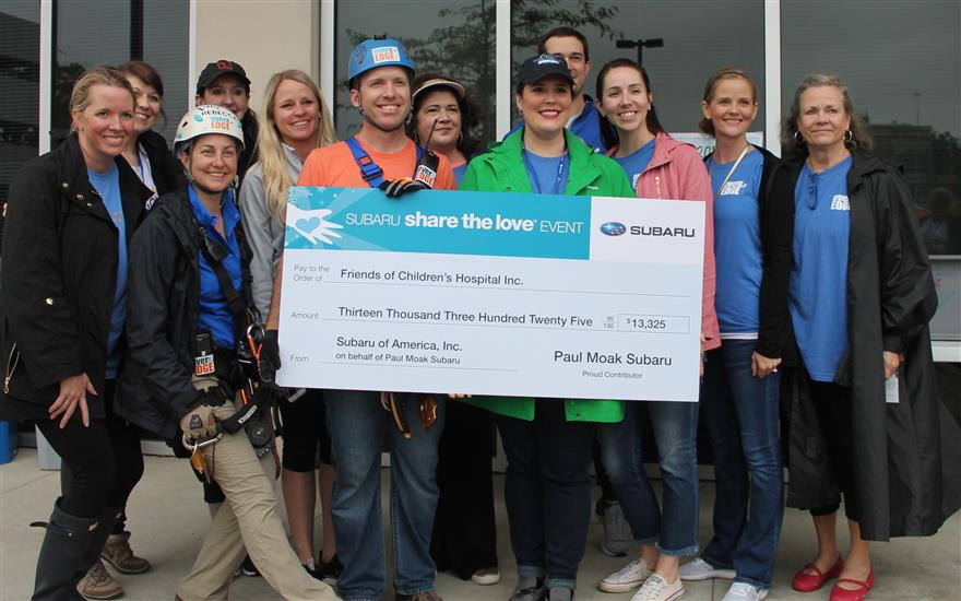 Friends of Children's Hospital goes Over the Edge