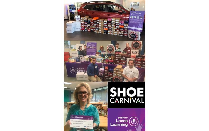 Shoes, Books and Success!